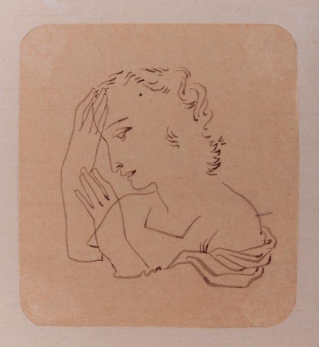 1944. Illustratie van Jan Teulings uit Aan de rand