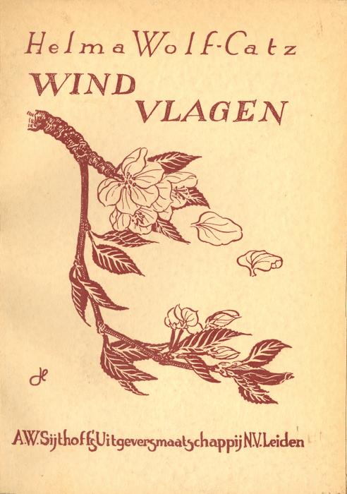 Windvlagen. Sijthoff, Leiden, 1939.