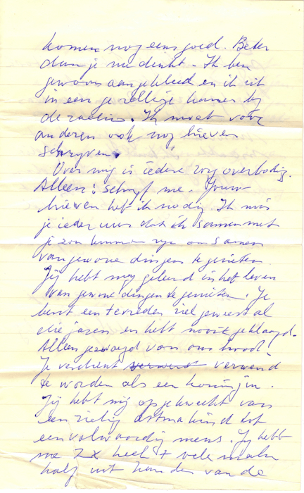 1962. Brief van Loeka aan Helma