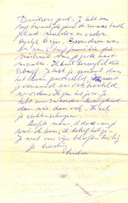1963. Brief van Helma aan Loeka